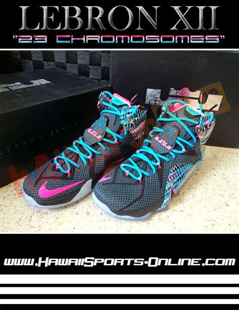 Sepatu Futsal Running Sepak Bola Adidas Nike Sepatu Olahraga toko olahraga hawaii sports sepatu basket original nike lebron xii quot 23 chromosomes quot lebron