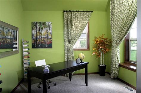 best paint color for home office with cool and beautiful green colors home interior exterior
