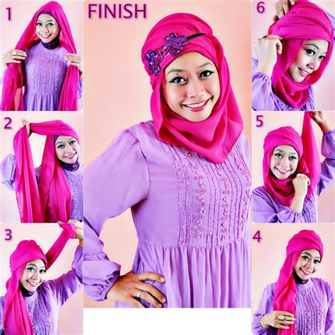 tutorial hijab pasmina simple elegant top 5 elegant tutorial hijab simple casual pictures