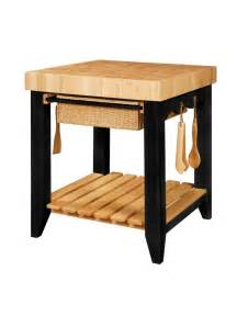 kitchen island with butcher block color story black butcher block kitchen island powell 502 416
