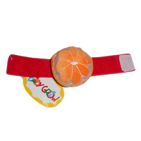 Kaos Kaki Rattle Impor Mix Animal klikbabylove gelang tangan baby grow orange