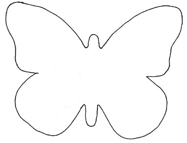 Free Butterfly Card Template by Free Butterfly Template Free Clip Free Clip
