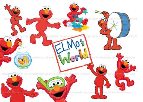 free elmo painting elmo clip clipartion