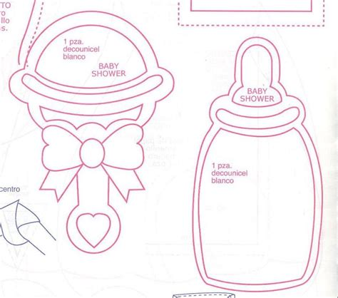 Moldes Para Baby Shower free moldes para baby shower coloring pages
