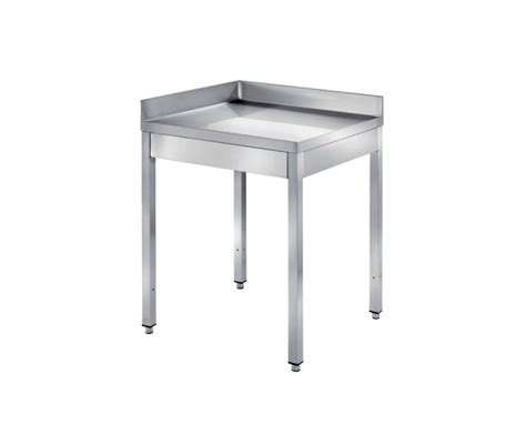 tavoli ad angolo tavoli in acciaio inox su gambe ondainox