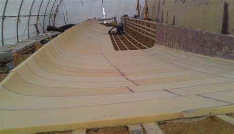 boat building foam sandwich construction composite panels for the marine industry curve works
