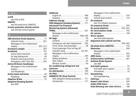 free car repair manuals 2009 mercedes benz m class electronic throttle control mercedes benz e350 2009 w211 owner s manual