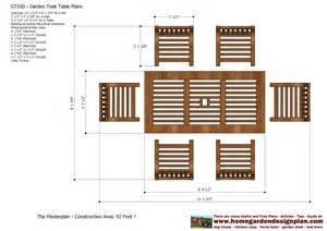 home garden plans gt100 garden teak tables woodworking plans outdoor furniture plans