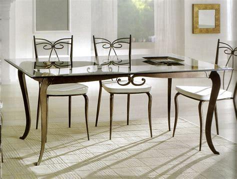 arredo in ferro battuto tavoli tavolini d arredo tavolo ferro battuto e vetro