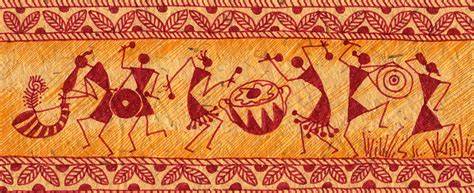 Bedroom Painting Designs dancing warlis by subhash limaye