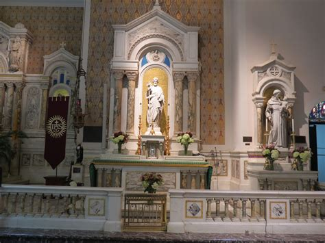 where to put st 10 beautiful photos of traditional altar rails churchpop
