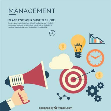 management background vector free download
