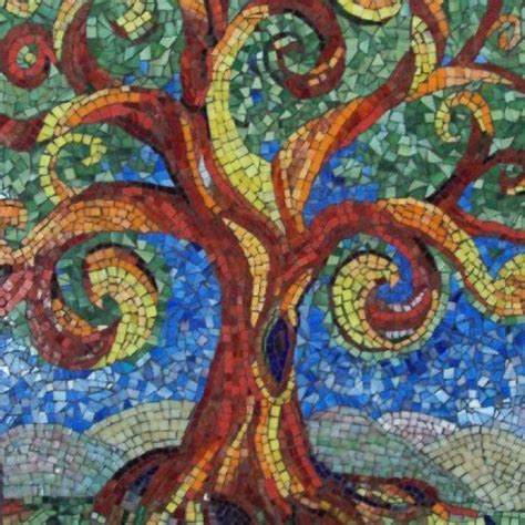 mosaic hatch pattern 120 best images about mosaic trees on pinterest trees