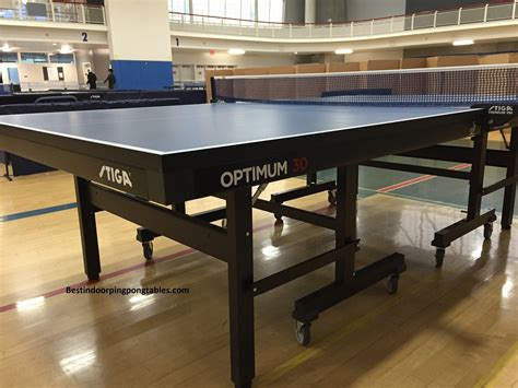ping pong set for any table stiga optimum 30 table tennis table