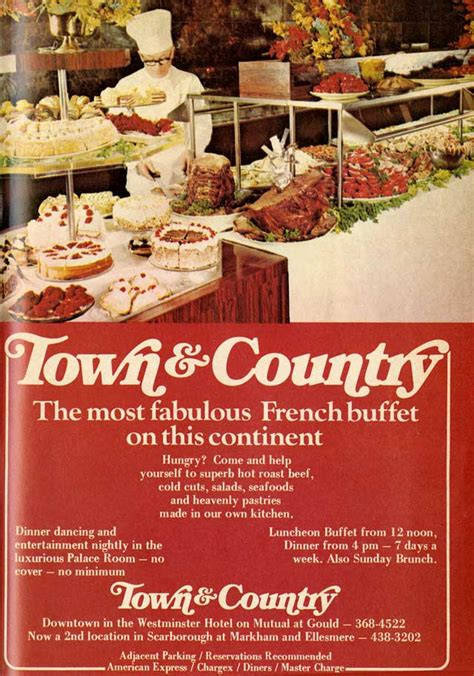 vintage toronto ads town country