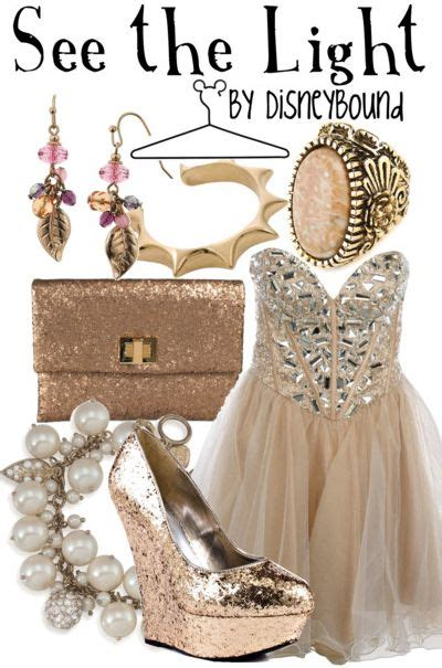 tangled theme prom disney bound see the light disneybound pinterest