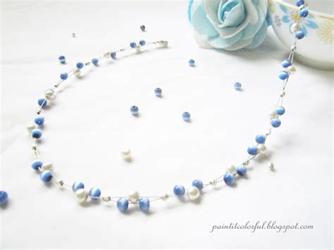 Handmade Beaded Jewellery Designs - easy handmade beaded necklace designs pandahall
