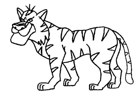 jungle animal coloring pages jungle animals coloring pages coloringpagesabc