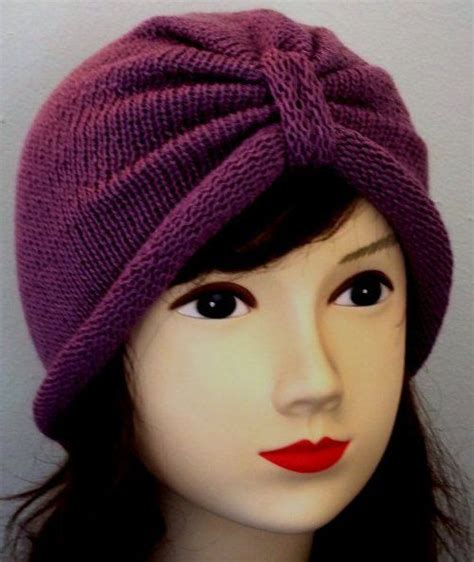how to knit a turban hat knitted turban hat for by accessoriesbyrita on etsy