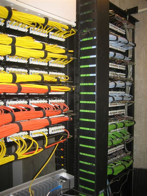 Patch Rack Cable Management by About Neat Patch Just Another Weblog