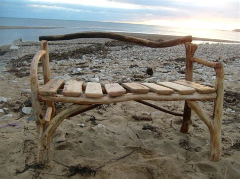 driftwood benches items similar to handcrafted driftwood bench on etsy