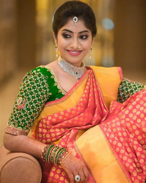 telugu matrimony besta brides offbeat colors a telugu bride can try celebritieswedding