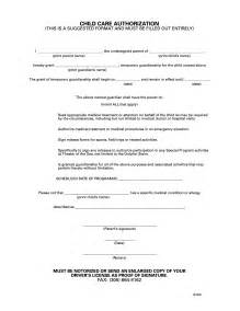 Authorization Letter To Guardian Best Photos Of Temporary Guardianship Form For Minor