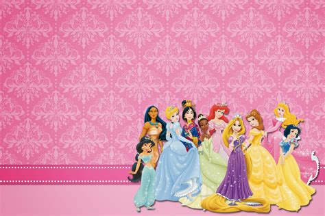 invitaci n de bautizo de princesa para imprimir princesas disney invitaciones para imprimir gratis