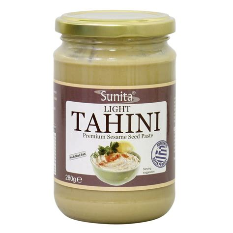 tahini grocery store section buy light tahini online in london uk