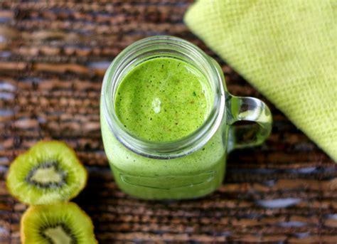 Kiwi Fruit Detox Smoothie by Irresistible Green Kiwi Smoothie For Detox Best