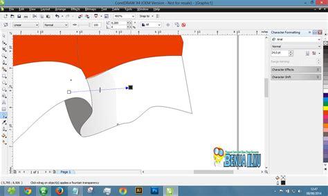 membuat gambar bergerak di corel draw cara membuat gambar bendera merah putih dengan corel draw