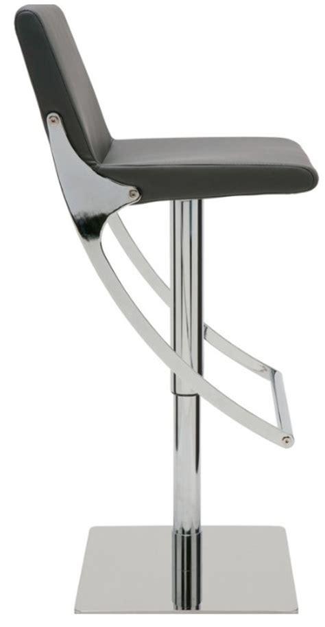 swinging bar stools nuevo swing ajustable bar stool modernselections