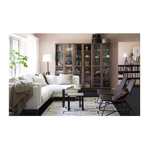 Bookcase Birch Billy Oxberg Bookcase Brown Ash Veneer 80x202x30 Cm Ikea