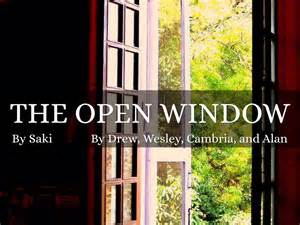 themes of the short story the open window the open window by dhh6344
