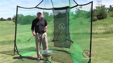 backyard driving range golf mats net and auto golf