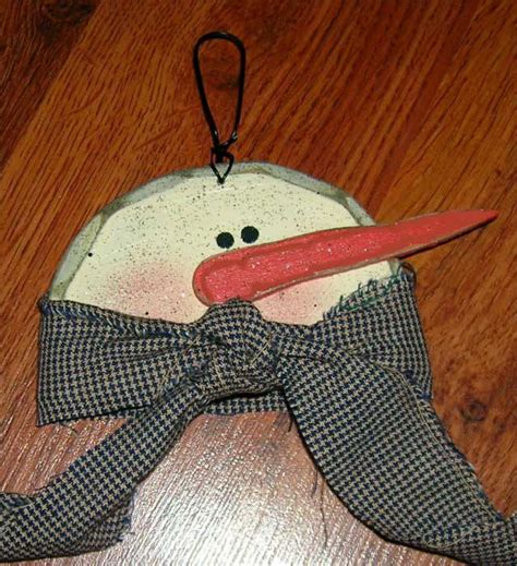 christmas crafts snowman ornament freecraftz com