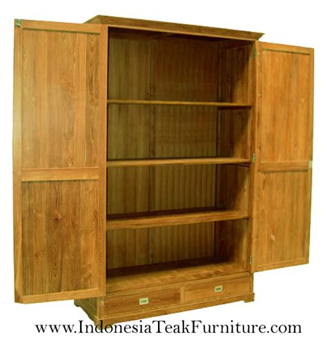 Wooden Armoire Cabinets by Teak Wood Bedroom Armoires