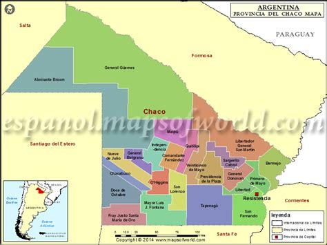 noticias de la provincia del chaco mapa del chaco provincia de chaco argentina