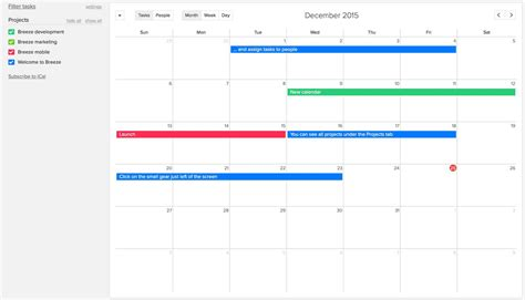 Calendar Management Project Management Software And Collaboration Tool