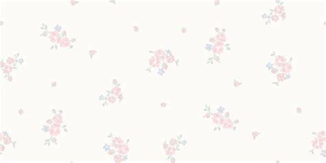 Kemeja Kasual Korea Pastel Soft Baby Pink Print Twiscone Murah flower print small 11 background wallpaper