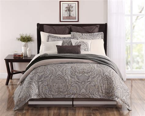 100 cotton comforter king 9 piece king palazzo 100 cotton comforter set ebay