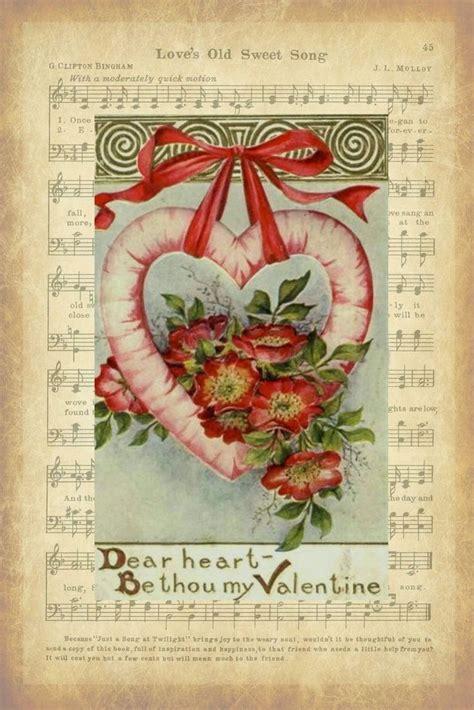 vintage valentines 78 best s day printables images on