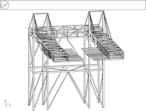 poutre treillis acier plateformes planchers techniques