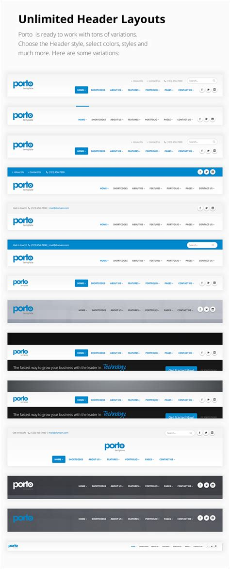 themeforest javascript porto responsive html5 template 3 7 themeforest php