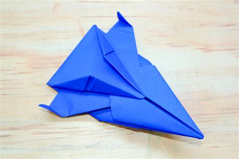 How To Make A Paper Spaceship - how to make an origami spaceship 13 steps with pictures