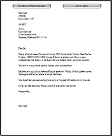 Complaint Letter Vehicle Writing A Complaint Letter To A Car Company Complaint Response Letter Smart Letterslemon