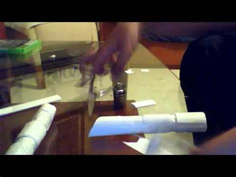How To Make A Lightsaber Out Of Paper - how to make a paper lightsaber pt 2