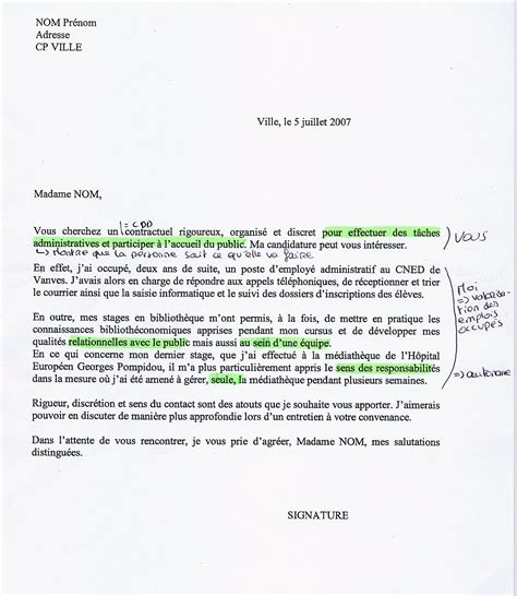 Exemple De Lettre De Motivation En Francais Pour Un Stage Exemple Lettre De Motivation Fran 231 Ais Mod 232 Le De Lettre