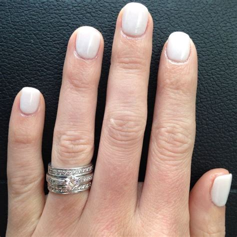 Cubbie Colar White by Sns Nails Signature Nail System Nail Dipping