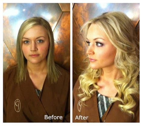 18 inch hair extensions before and after the safest and cheapest hair extension method for short